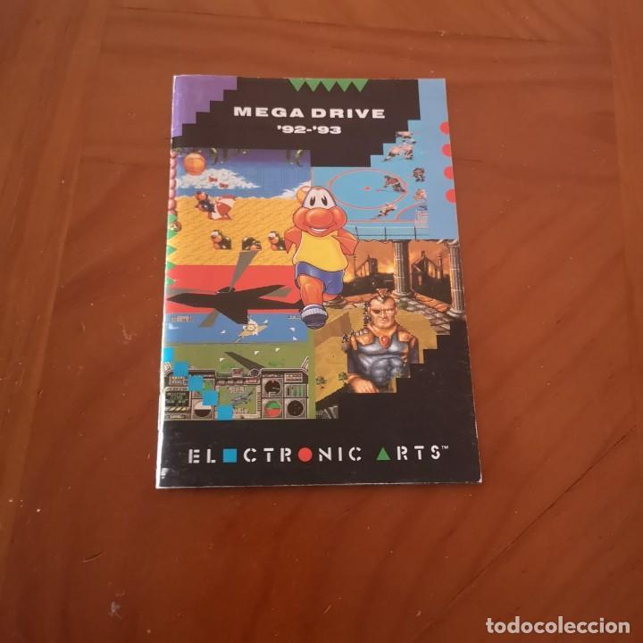 PUBLICIDAD ELECTRONIC ARTS MEGADRIVE 92-93 (Juguetes - Videojuegos y Consolas - Sega - MegaDrive)
