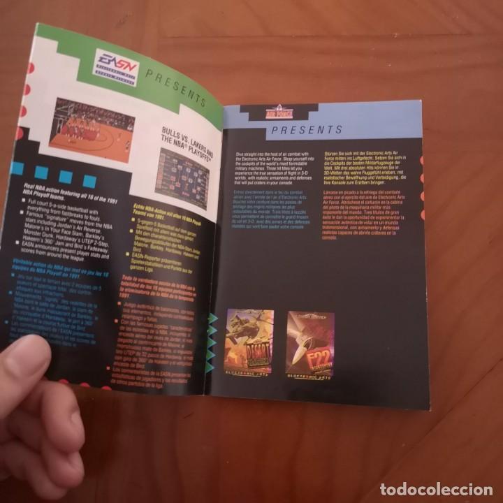 Videojuegos y Consolas: Publicidad Electronic arts megadrive 92-93 - Foto 2 - 192244085