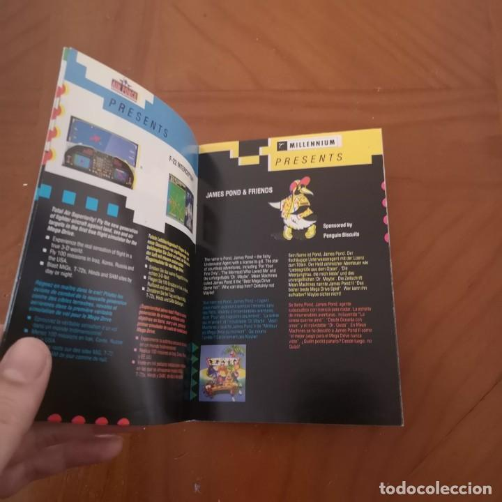 Videojuegos y Consolas: Publicidad Electronic arts megadrive 92-93 - Foto 3 - 192244085
