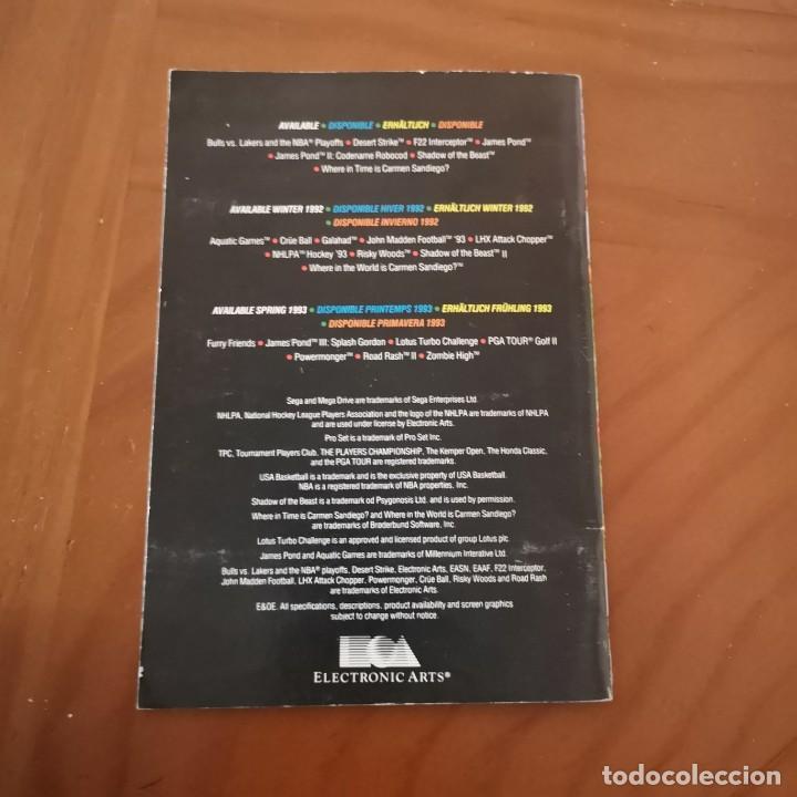 Videojuegos y Consolas: Publicidad Electronic arts megadrive 92-93 - Foto 4 - 192244085