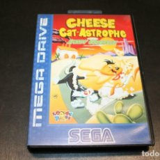 Videojuegos y Consolas: CHEESE CAT-ASTROPHE SRGA MEGA DRIVE COMPLETO. Lote 192269336