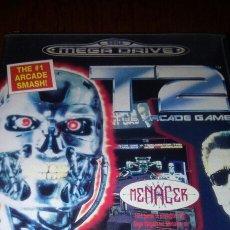 Videojogos e Consolas: T2 MEGA DRIVE TERMINATOR ARCADE GAME COMPLETO. Lote 193171112