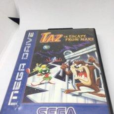 Videojuegos y Consolas: MEGADRIVE TAZ DIABLO TAZMANIA IN ESCAPE OF MARS. Lote 193316445