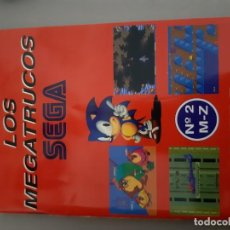 Videojuegos y Consolas: LIBRILLO MANUAL SEGA MEGADRIVE MEGA DRIVE MEGATRUCOS MEGA FORCE Nº 2. Lote 194073340