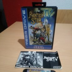 Videojuegos y Consolas: JUEGO COMPLETO PHANTASY STAR IV SEGA MEGADRIVE.. Lote 194147436