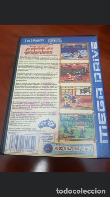 SAMURAI SHODOWN - SEGA MEGA DRIVE VERSION PAL EUROPA EN CASTELLANO ORIGINAL (Juguetes - Videojuegos y Consolas - Sega - MegaDrive)