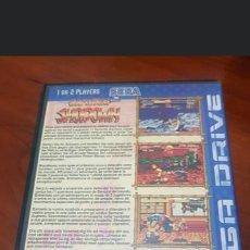Videojuegos y Consolas: SAMURAI SHODOWN - SEGA MEGA DRIVE VERSION PAL EUROPA EN CASTELLANO ORIGINAL. Lote 194516305