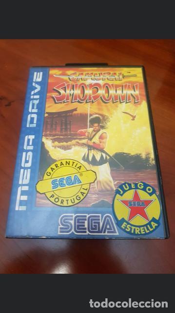 Videojuegos y Consolas: Samurai Shodown - Sega Mega Drive Version PAL Europa en castellano Original - Foto 2 - 194516305