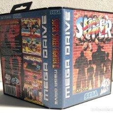 Videojuegos y Consolas: CARATULA SUPER STREET FIGHTER II REPRO SEGA MEGA DRIVE. Lote 194606142