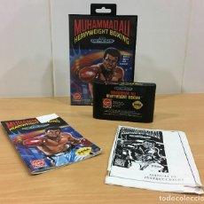 Videojuegos y Consolas: JUEGO DE BOXEO PARA CONSOLA SEGA GENESIS - MUHAMMAD ALÍ HEAVYWEIGHT BOXING (1992). Lote 194640442