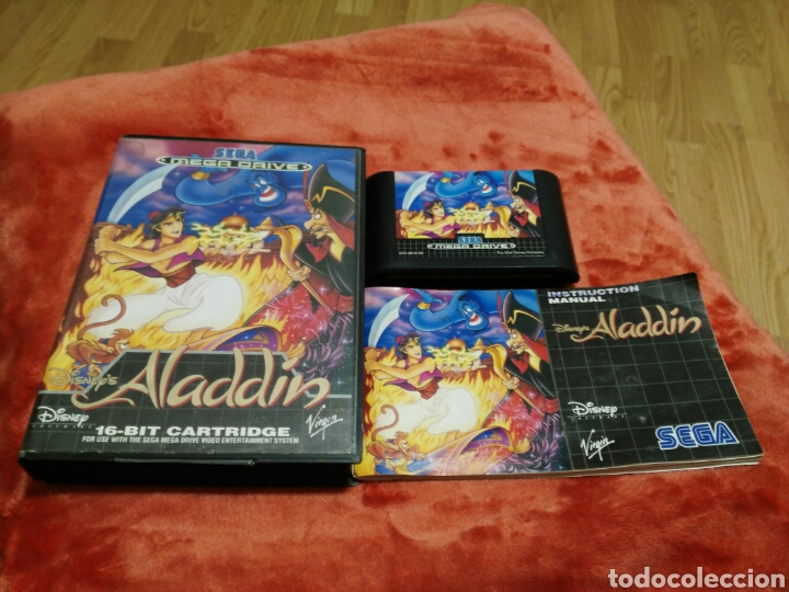 ALADDIN (Juguetes - Videojuegos y Consolas - Sega - MegaDrive)