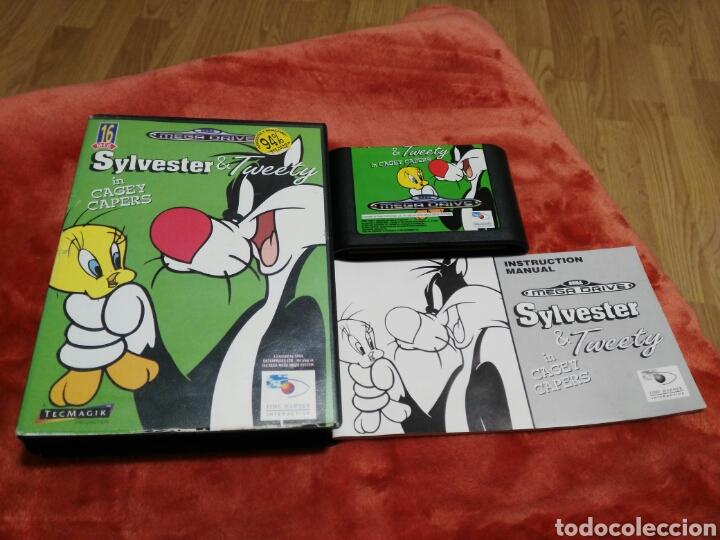 SYLVESTER Y TWEETY (Juguetes - Videojuegos y Consolas - Sega - MegaDrive)