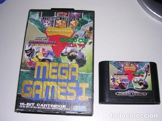 SEGA MEGADRIVE JUEGO MEGAGAMES I (Juguetes - Videojuegos y Consolas - Sega - MegaDrive)