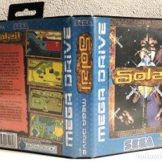 Videojuegos y Consolas: CARATULA SOLEIL REPRO SEGA MEGA DRIVE. Lote 196766415