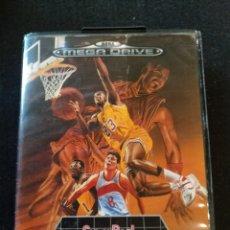 Videojuegos y Consolas: JUEGO MEGADRIVE SUPER REAL BASKETBALL. Lote 196867581
