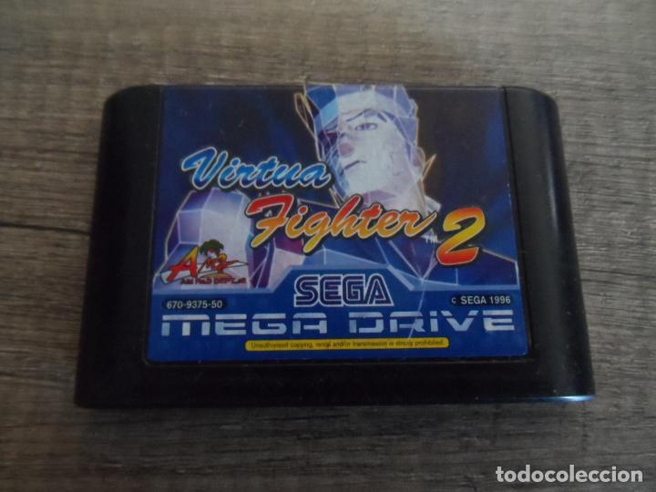 SEGA MEGADRIVE VIRTUA FIGHTER 2 PAL (Juguetes - Videojuegos y Consolas - Sega - MegaDrive)