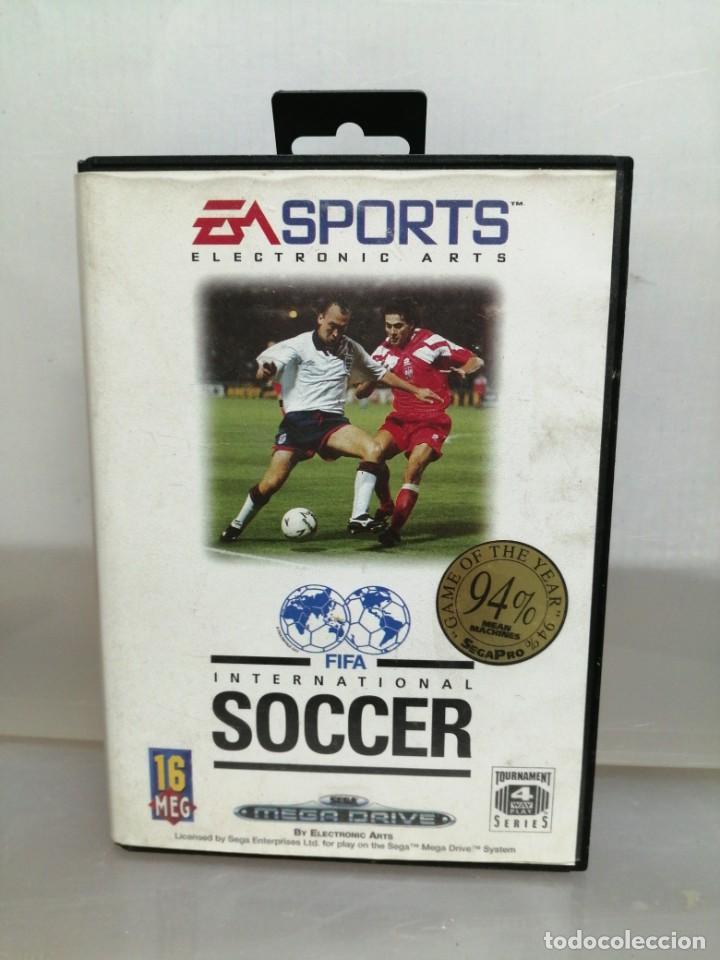 MEGA DRIVE FIFA INTERNACIONAL SOCCER (Juguetes - Videojuegos y Consolas - Sega - MegaDrive)