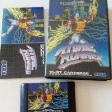 Videojuegos y Consolas: ATOMIC RUNNER SEGA MEGADRIVE. Lote 197730056