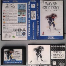 Videojuegos y Consolas: SEGA MEGA DRIVE WAYNE GRETZKY NHLPA HOCKEY COMPLETO CAJA Y MANUAL BOXED CIB PAL R10425. Lote 198792792