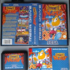 Videojuegos y Consolas: SEGA MEGA DRIVE DINAMYTE HEADDY COMPLETO CAJA Y MANUAL BOXED CIB PAL R10427. Lote 198792908