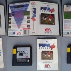 Videojuegos y Consolas: LOTE SEGA MEGA DRIVE FIFA 95 96 97 SOCCER COMPLETOS CAJA Y MANUAL BOXED CIB PAL R10431. Lote 198793198