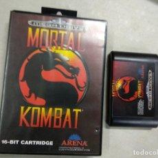 Videojogos e Consolas: MORTAL KOMBAT - SEGA MEGADRIVE MEGA DRIVE MD - PAL. Lote 199119320