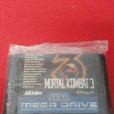 Videojuegos y Consolas: JUEGO MEGA DRIVE MORTAL KOMBAT 3. Lote 199131683