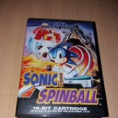 Videojuegos y Consolas: SONIC THE HEDGEHOG SPINBALL SEGA MEGA DRIVE. Lote 199158676