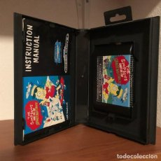 Videojogos e Consolas: THE SIMPSONS: BART VS THE SPACE MUTANTS - SEGA MEGA DRIVE VERSION PAL EUROPA EN CASTELLANO ORIGINAL. Lote 199231650