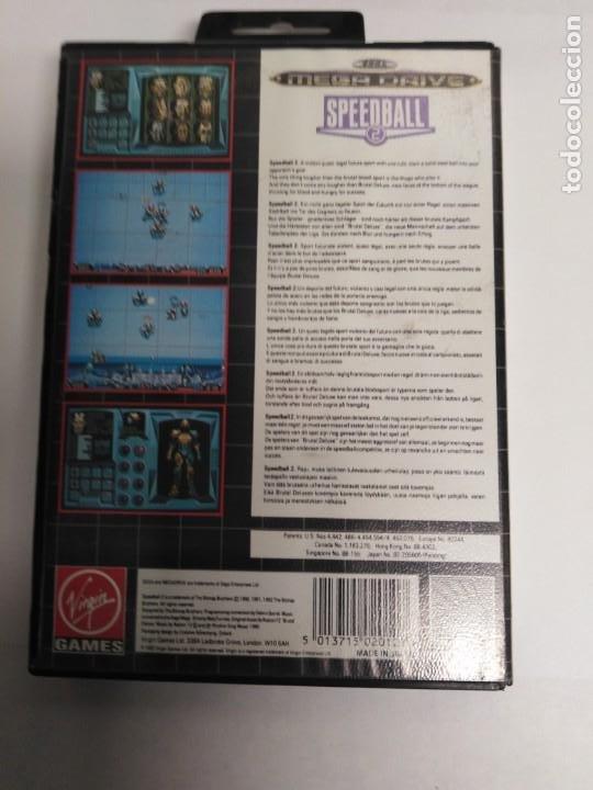 Videojuegos y Consolas: Juego Mega drive Speedball 2 - Foto 3 - 199251191
