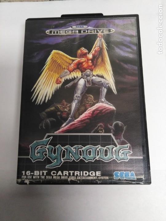 JUEGO MEGA DRIVE GYNOUG (Juguetes - Videojuegos y Consolas - Sega - MegaDrive)