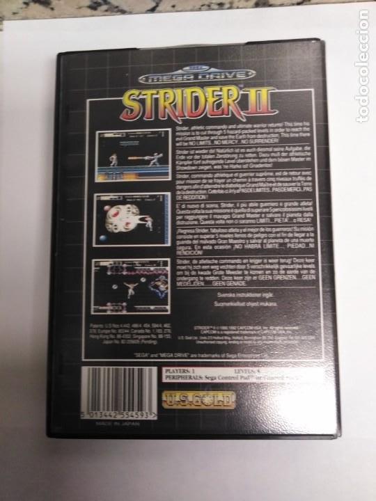 Videojuegos y Consolas: Juego Mega drive Strider II - Foto 3 - 199251578