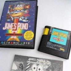 Videogiochi e Consoli: JAMES POND II 2 ROBOCOD - MEGA DRIVE - SEGA MEGADRIVE - COMPLETO CON INSTRUCCIONES - MUY BUEN ESTADO. Lote 199059361
