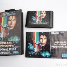 Jeux Vidéo et Consoles: MICHAEL JACKSON MOONWALKER - MEGA DRIVE - SEGA MEGADRIVE - COMPLETO CON INSTRUCCIONES - COMO NUEVO. Lote 198932908
