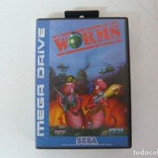 Videojuegos y Consolas: WORMS / SEGA MEGADRIVE / JUEGO CARTUCHO / VER FOTOS / RETRO VINTAGE. Lote 199689628