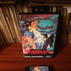 Videojuegos y Consolas: WONDER BOY / IN MONSTER WORLD / MEGADRIVE. Lote 200033632