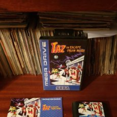 Videojogos e Consolas: TAZ IN SCAPE FROM MARS / MEGADRIVE. Lote 200038161