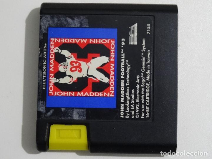 Videojuegos y Consolas: SEGA MEGA DRIVE - John Maddenn - Foto 2 - 200774410