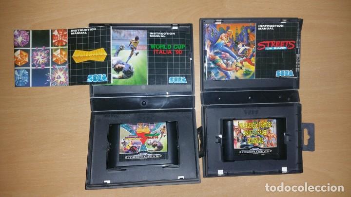 Videojuegos y Consolas: MEGA GAMES I II SHINOBI GOLDEN AXE STREETS RAGE HANG ON ITALIA 90 MEGADRIVE - Foto 3 - 200872732