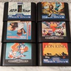 Videojuegos y Consolas: LOTE MEGA DRIVE. Lote 202614962