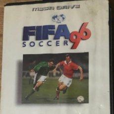 Videojuegos y Consolas: 'FIFA SOCCER 96'. JUEGO SEGA MEGA DRIVE. EA SPORTS. BUEN ESTADO.. Lote 202870787