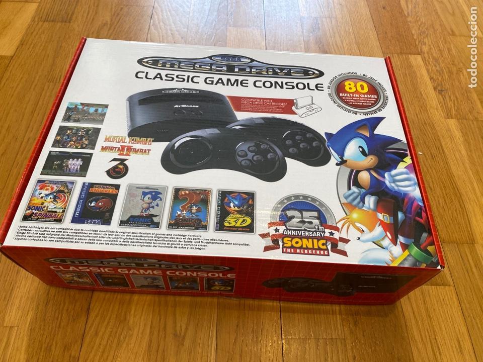 SEGA MEGA DRIVE CLASSIC GAME CONSOLA EN PERFECTO ESTADO (Juguetes - Videojuegos y Consolas - Sega - MegaDrive)