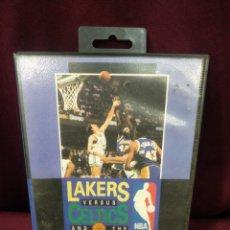 Videojuegos y Consolas: LAKERS VS CELTICS, NBA PLAYOFFS, JUEGO MEGADRIVE. Lote 203234121