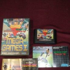 Videojuegos y Consolas: MEGA GAME I, MEGADRIVE PACK 3 JUEGOS + 2 MANUALES. Lote 203235298