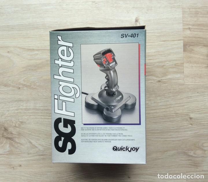 Videojuegos y Consolas: Joystick Quickjoy SG Fighter SV-401 compatible SEGA VIDEO GAME SYSTEM. - Foto 2 - 203447300