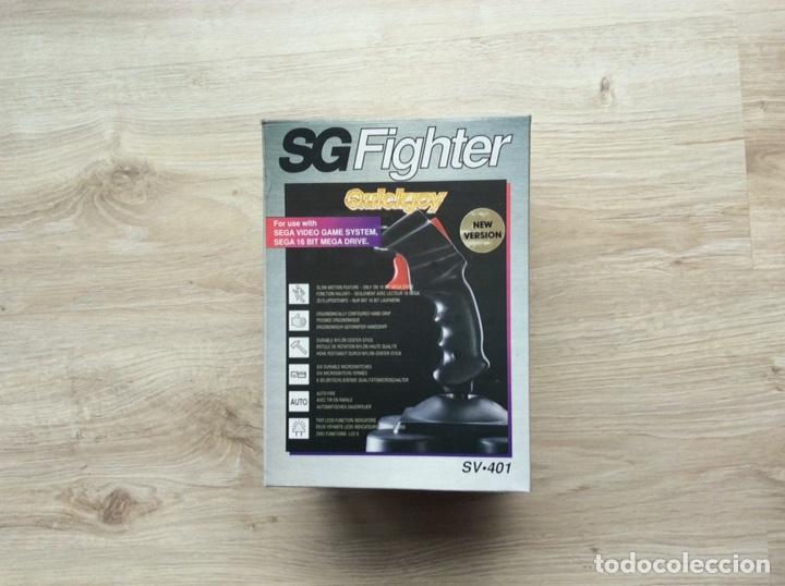 JOYSTICK QUICKJOY SG FIGHTER SV-401 COMPATIBLE SEGA VIDEO GAME SYSTEM. (Juguetes - Videojuegos y Consolas - Sega - MegaDrive)