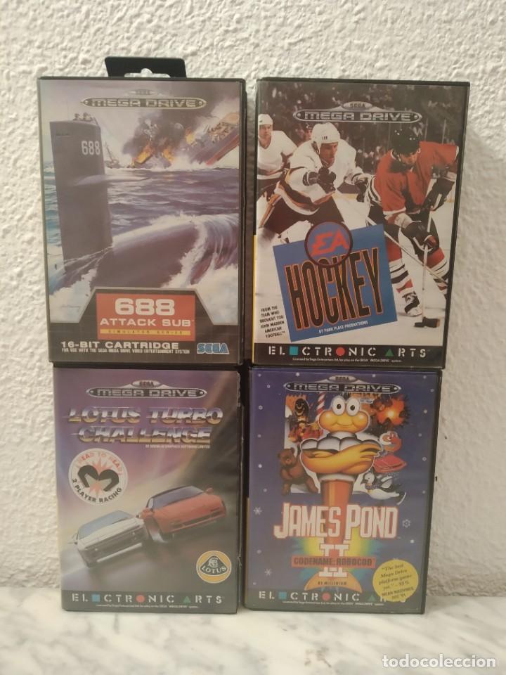 LOTE JUEGOS MEGA DRIVE COMPLETOS (Juguetes - Videojuegos y Consolas - Sega - MegaDrive)