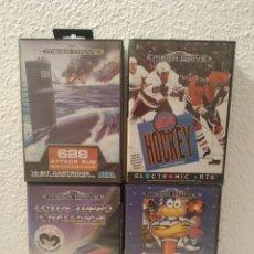 Videojuegos y Consolas: LOTE JUEGOS MEGA DRIVE COMPLETOS. Lote 204672577