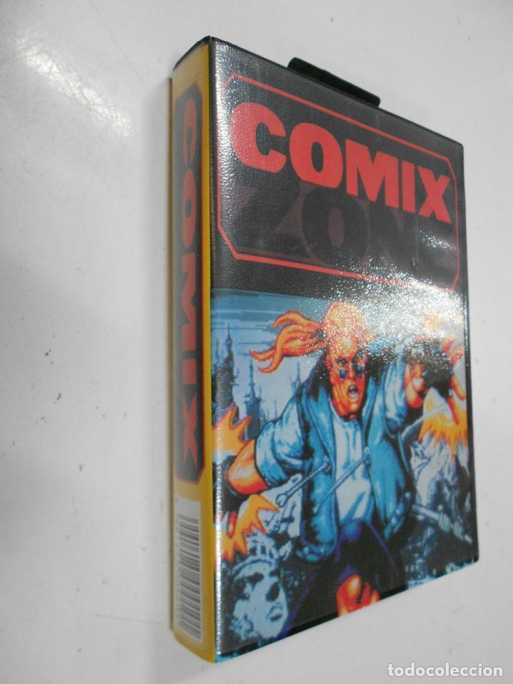 Videojuegos y Consolas: ANTIGUO JUEGO SEGA COMIX ZONE - NUEVO EN SU CAJA - Foto 2 - 37514858