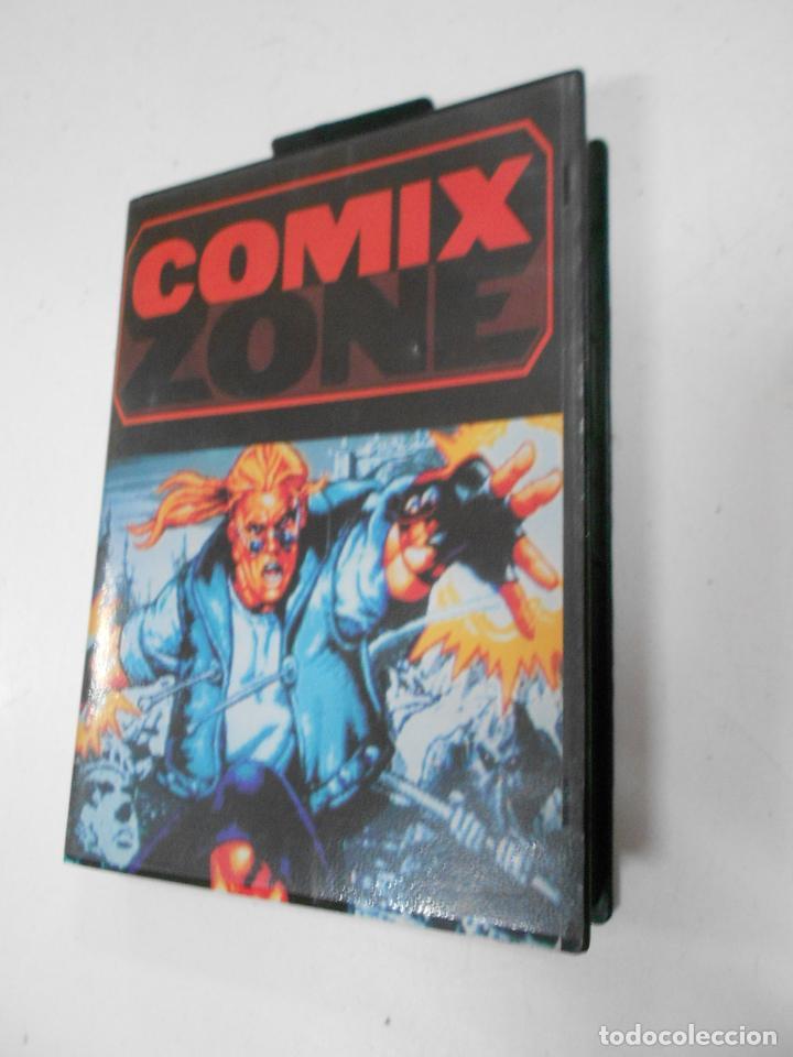 Videojuegos y Consolas: ANTIGUO JUEGO SEGA COMIX ZONE - NUEVO EN SU CAJA - Foto 3 - 37514858